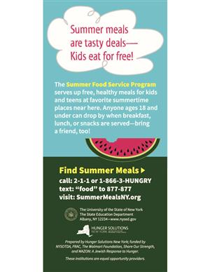 Summer Food Service